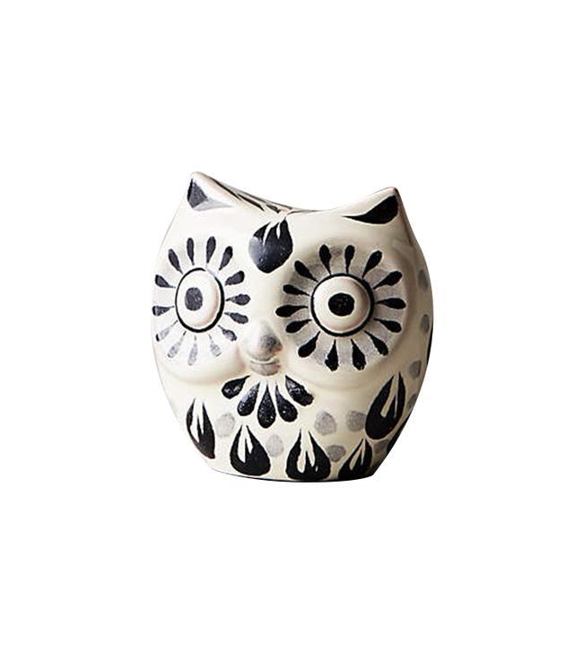 Anthropologie Folk Owl Salt and Pepper Shakers