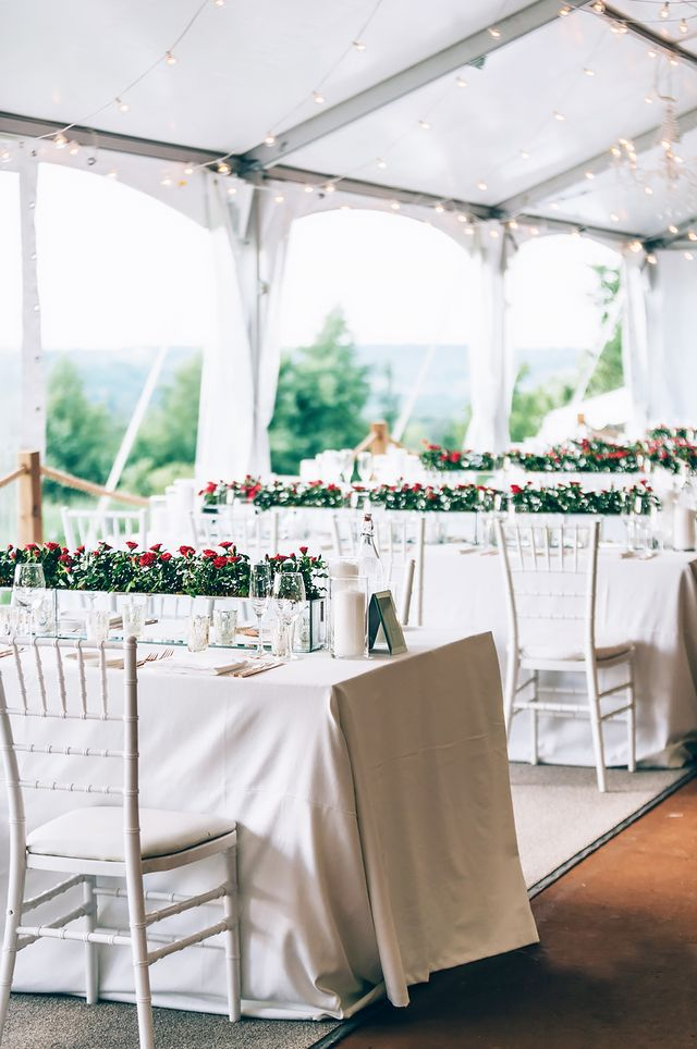 While the event design and bridal party accents were the work of the mother-daughter duo, the food was Burgan's vision. A private chef by trade himself, he worked with Caesar Guinto and Sam...