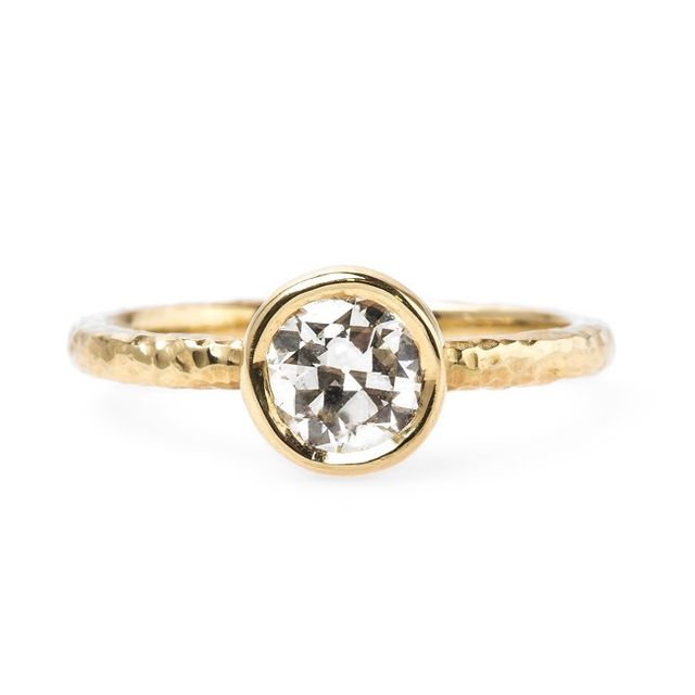 Trumpet Horn Challis Farm Diamond Ring