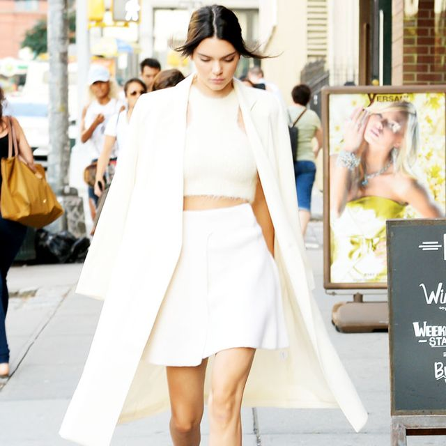 Kendall Jenner Makes the Case for Fall Whites