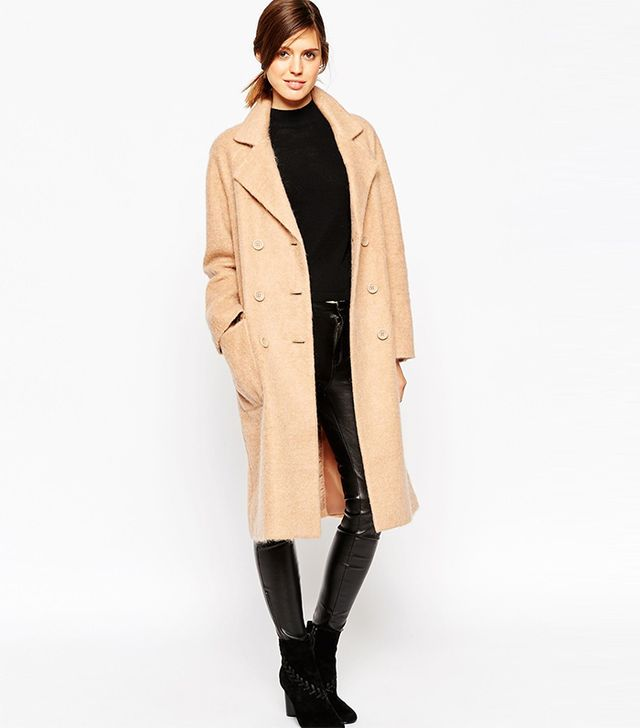 ASOS Coat in Cocoon Fit