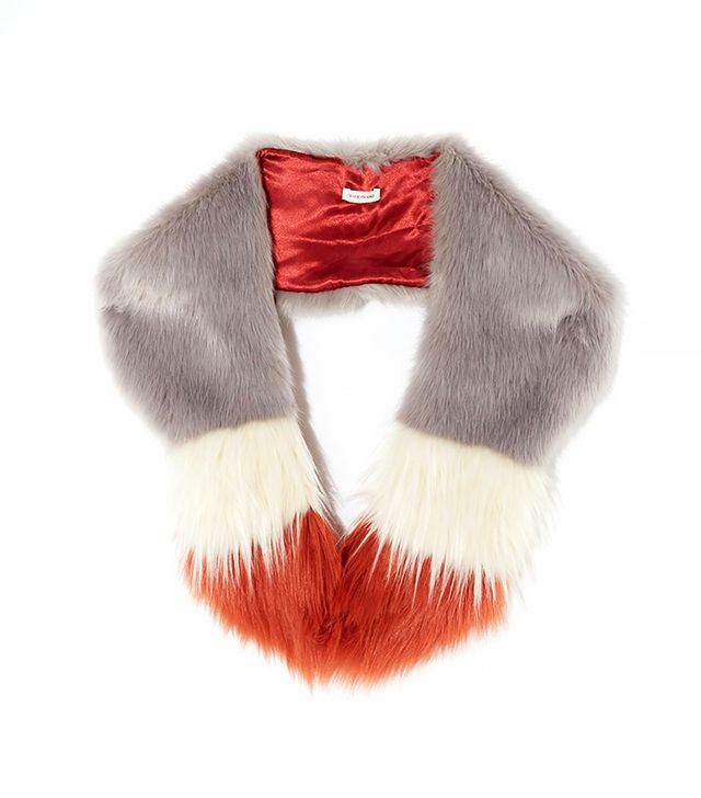River Island Tipped Faux Fur Tippet