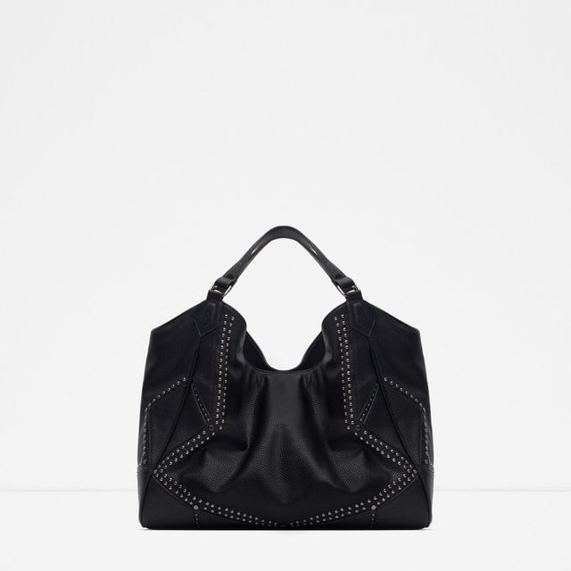 Zara Studded Tote Bag