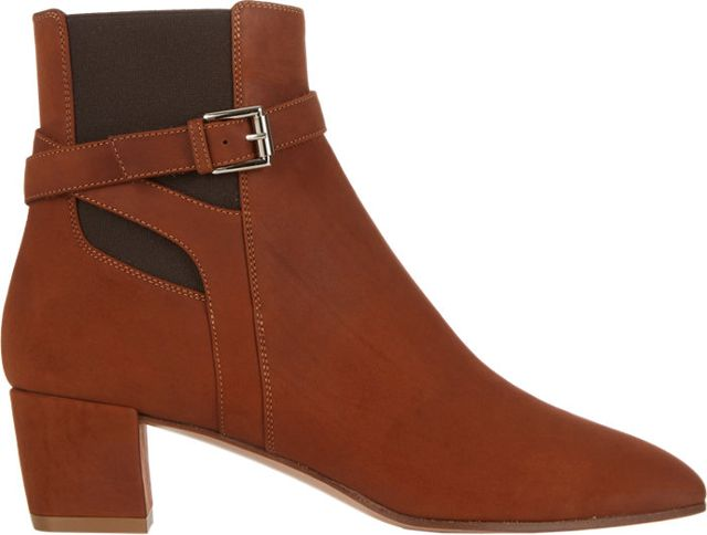 Gianvito Rossi Buckle-Strap Ankle Boots