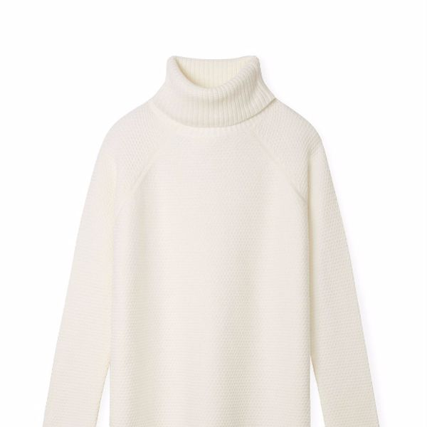 Tory Burch Oversized Turtleneck Sweater