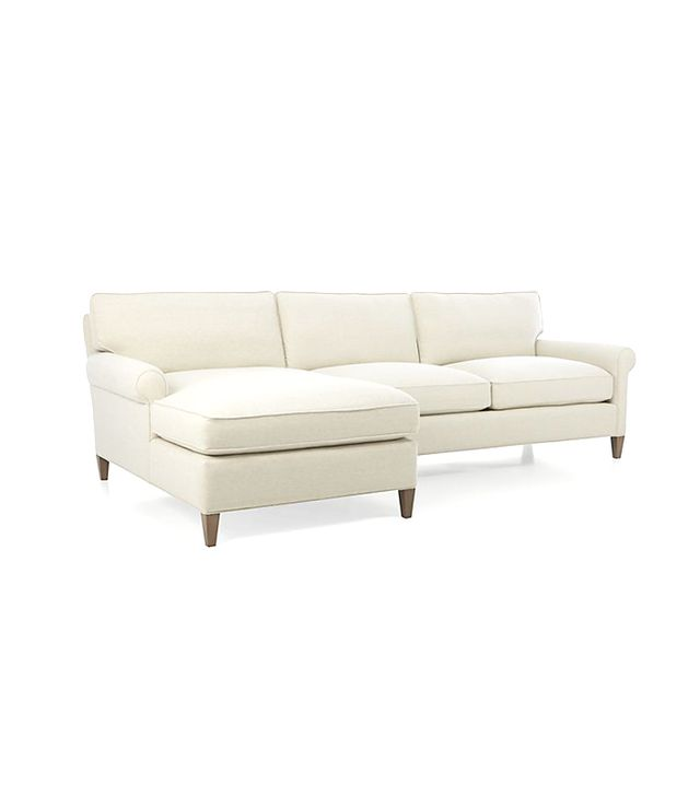 Crate and Barrel Montclair 2-Piece Sectional Sofa