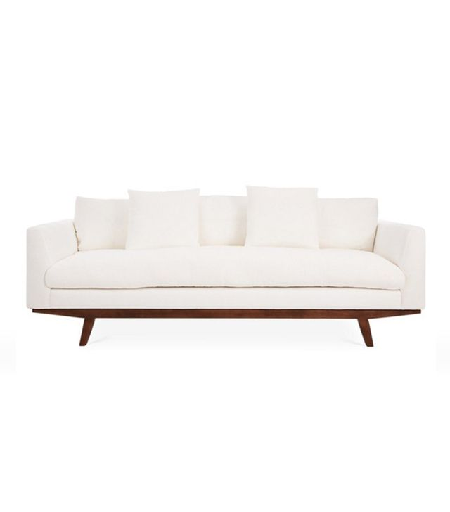 One Kings Lane Carmel Linen Sofa