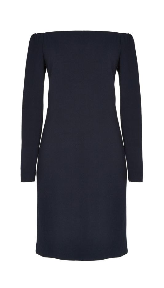Tibi Viscose Crepe Off-the-Shoulder Dress