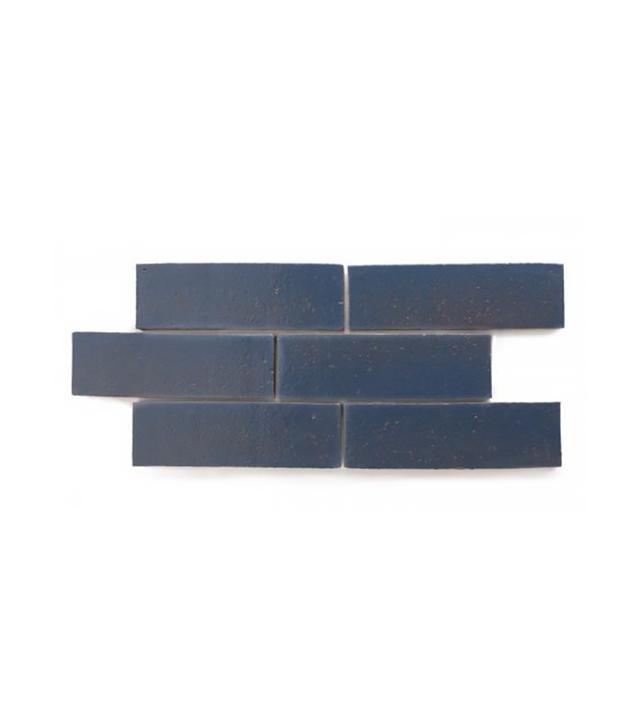 Fireclay Tile Vintage Blue Brick Tile