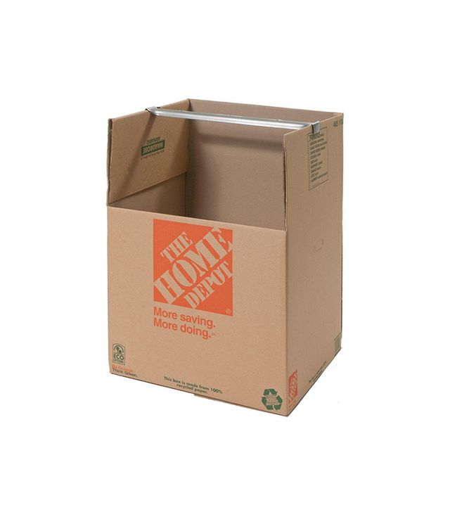 The Home Depot Wardrobe Box With Metal Hanging Bar