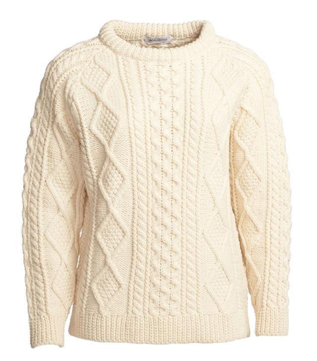 &Daughter Aran Knit Sweater