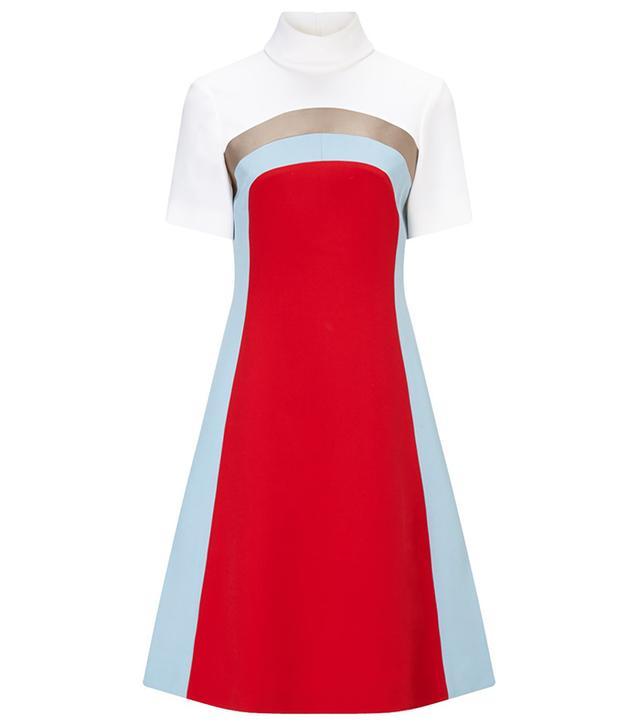Jonathan Saunders Poppy Nico Turtleneck Dress
