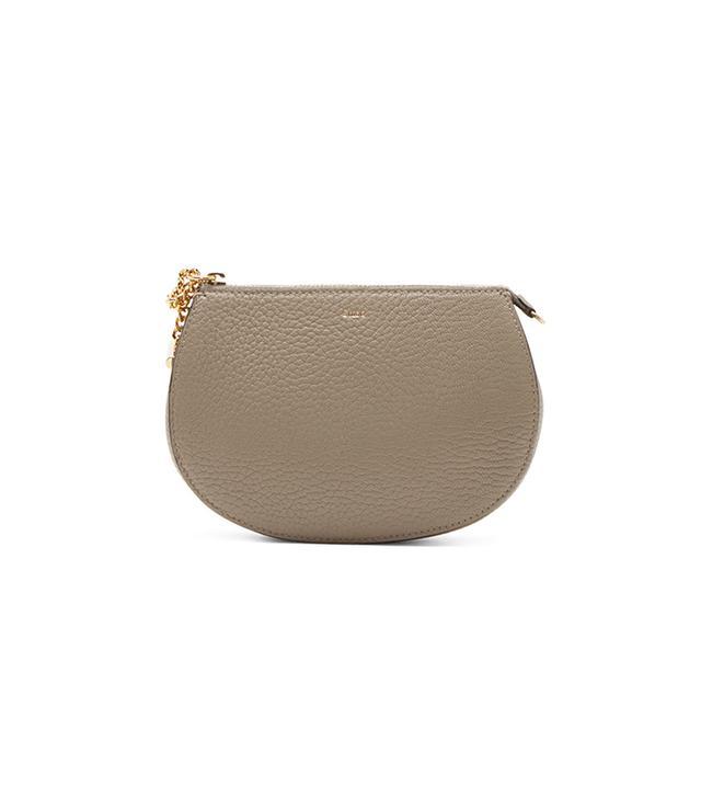 Chloé Grey Leather Drew Pouch