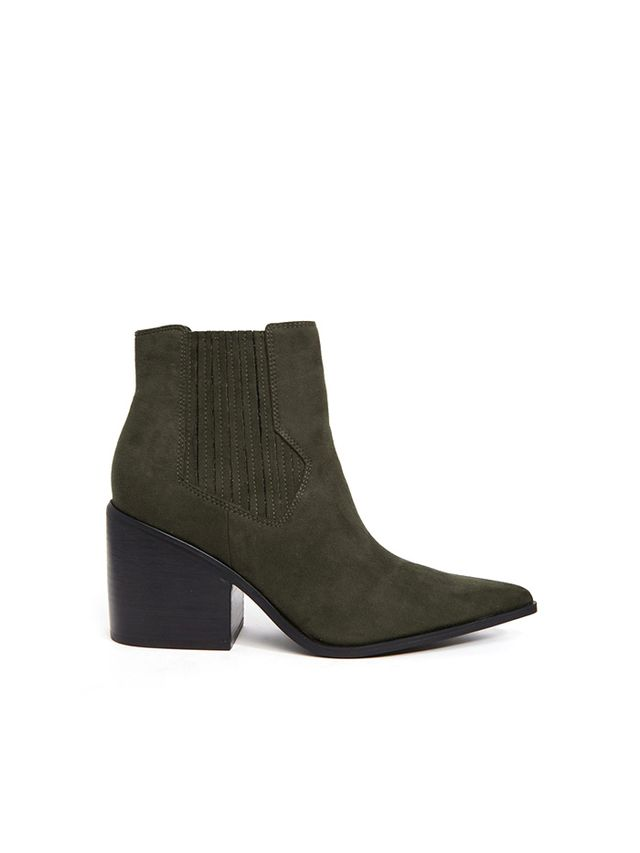 ASOS Elsa Western Pointed Ankle Boots