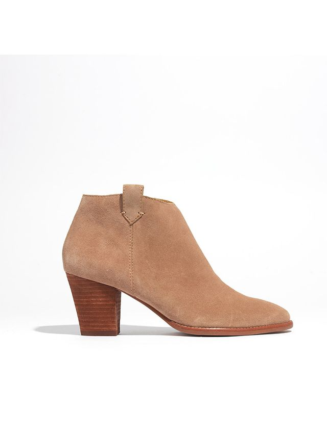 Madewell The Billie Boots in Suede