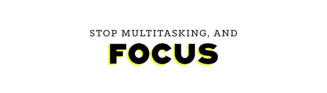 For some reason, multitasking—the art of performing several tasks simultaneously—has been championed in our culture, but the multitasking concept is a myth. Studies from Stanford...