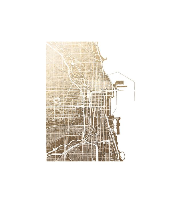 Alex Elko Design Chicago Map