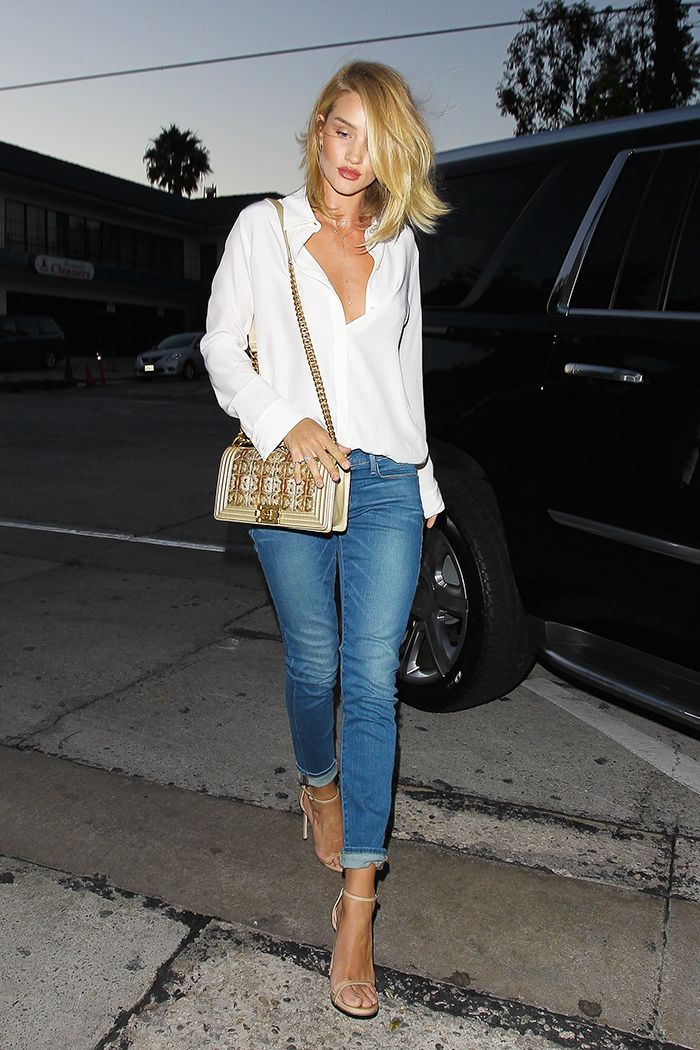 What Celebrities Wear To L A S Hottest Spot Who What Wear