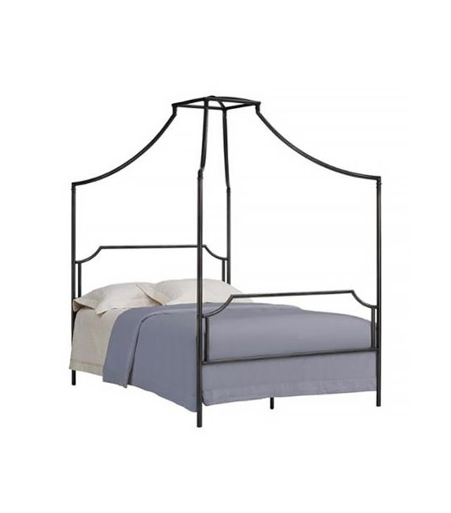 Walmart Bailey Charcoal Full-Size Canopy Bed Frame