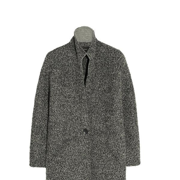 Isabel Marant Daryl Oversized Bouclé Coat