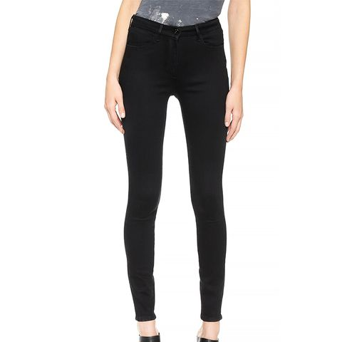 W3 Channel Seam Skinny Jeans