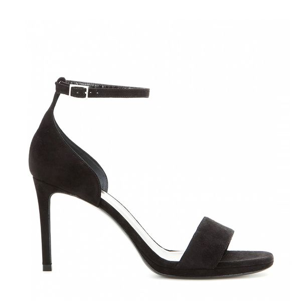 Saint Laurent Jane Suede Sandals