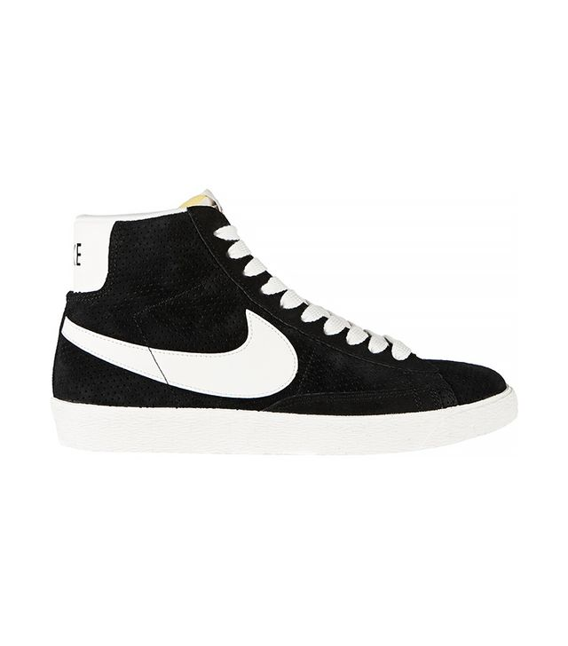 Nike Perforated Suede High Top Sneakers