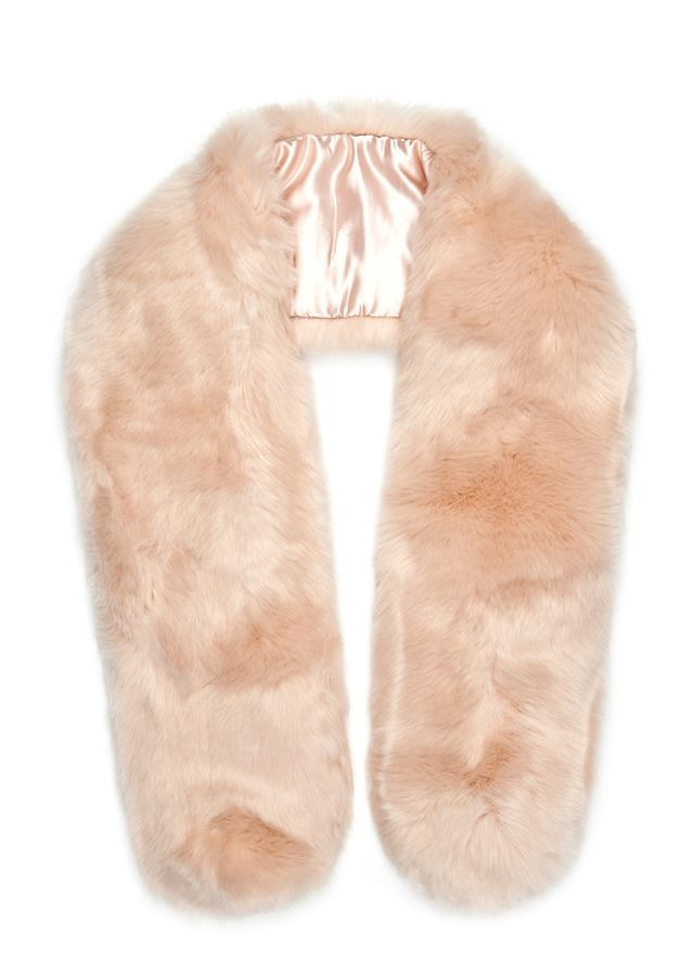 The Haute Pursuit Baby Pink Chubby Stole