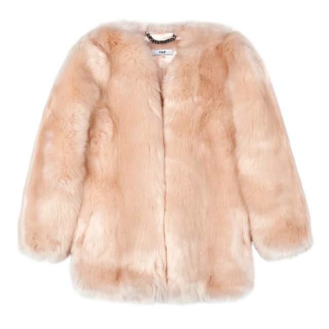 The Haute Pursuit Baby Pink Boxy Coat