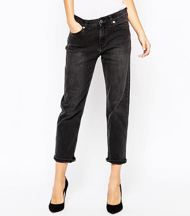 Weekday Ami Mid Rise Comfy Stretch Boyfriend Jeans
