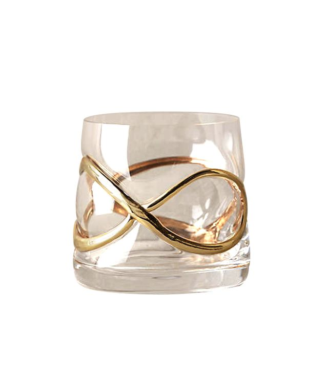Anthropologie Glimmer Wrapped Glassware