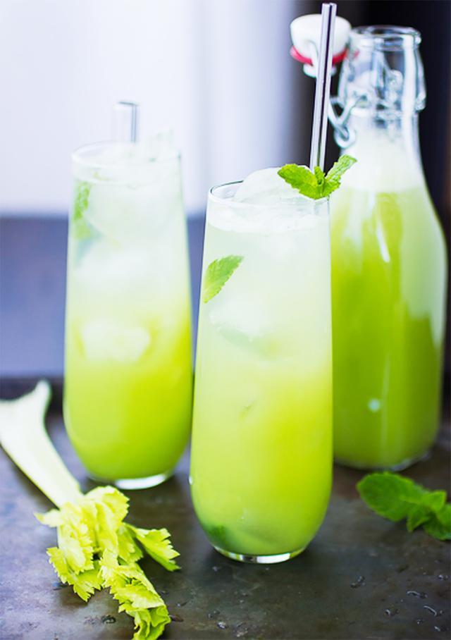 Mint and Celery Soda