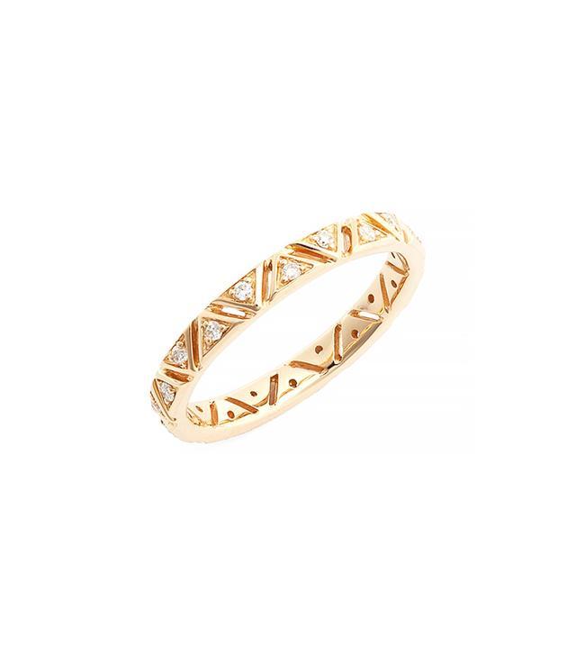 Dana Rebecca Designs Diamond Triangle Band Ring