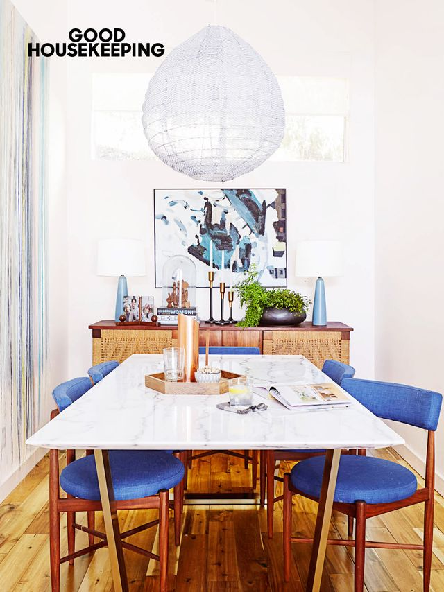 MD: What are décor pieces can you save on?  EH: There are so many great options out there for finishing touches and accents, like pillows, vases, and trays. You don't have to spend...