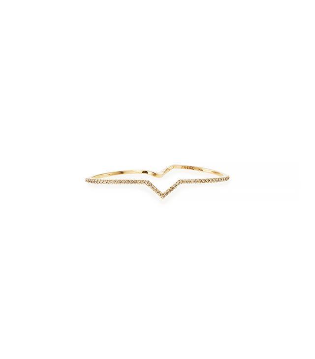 Paige Novick Elisabeth Double Finger Diamond Ring