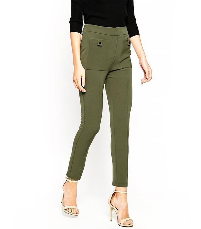 ASOS Super Slim Military Trousers