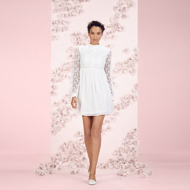 LC Lauren Conrad Runway Lace Mini Dress