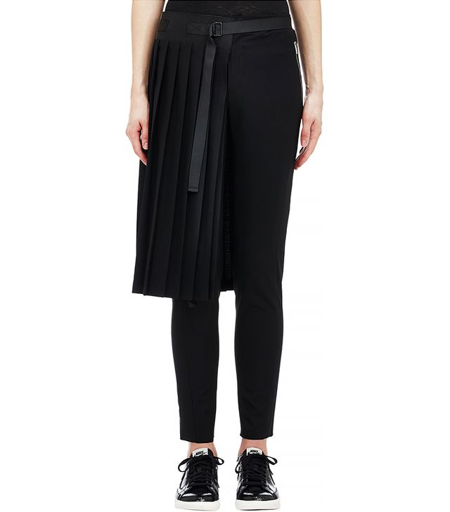 Tim Coppens Worsted Knife-Pleated Skirt
