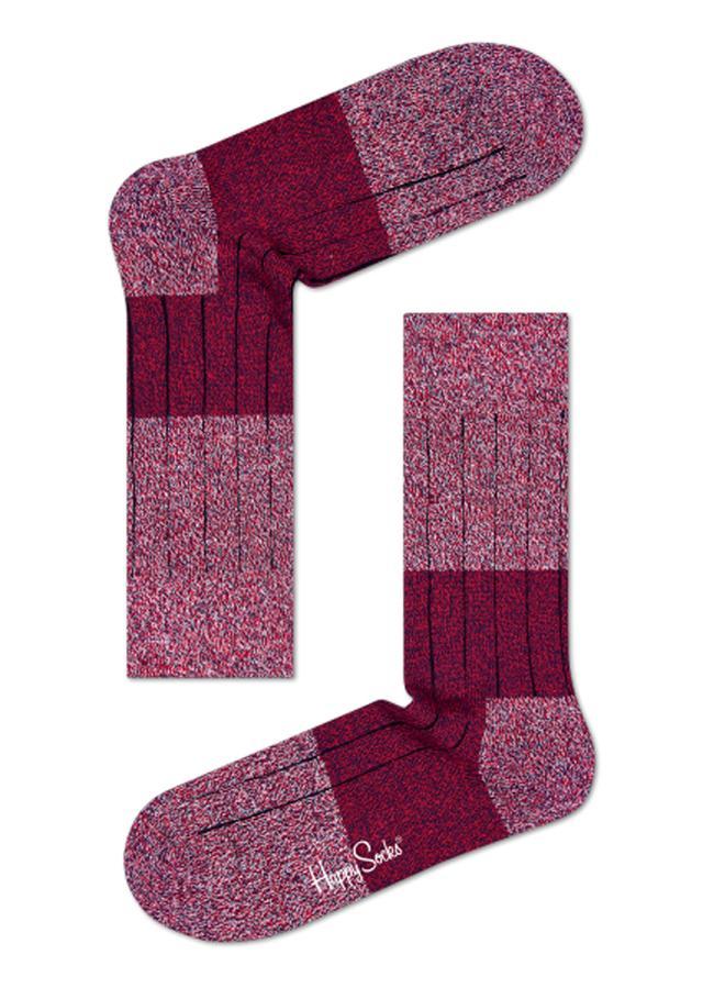 Happy Socks Wool Block Socks