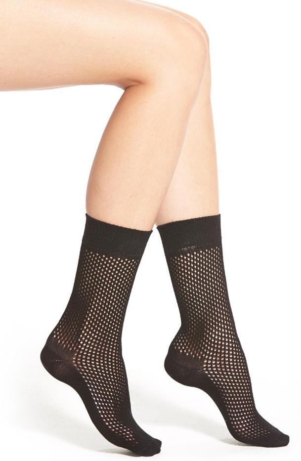 Ralph Lauren Mesh Knit Crew Socks
