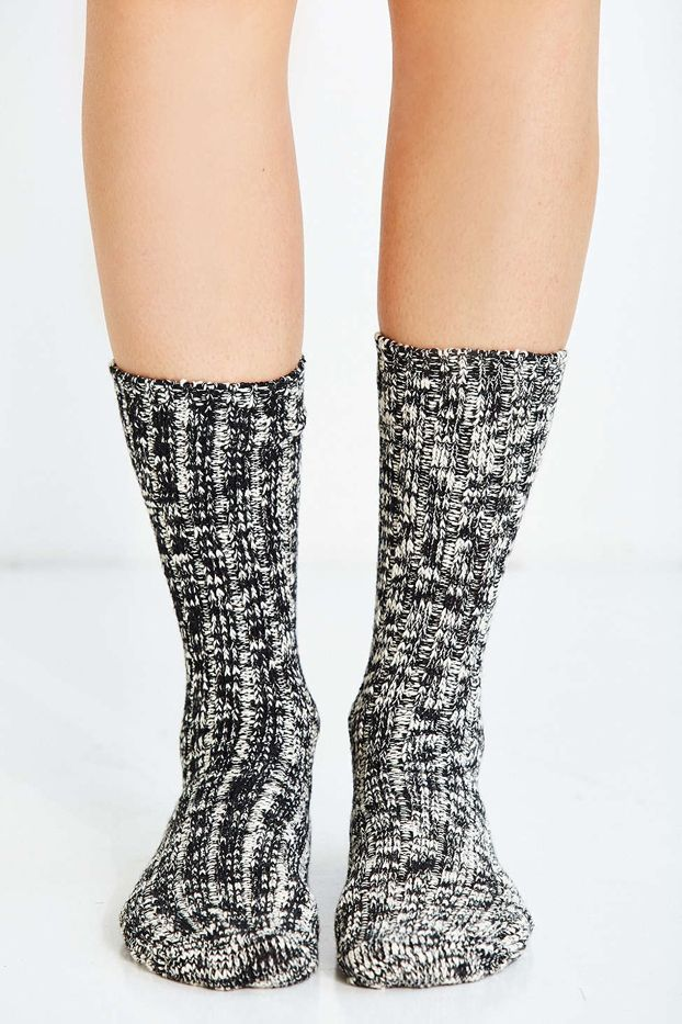 Urban Outfitters Basic Marled Boot Socks