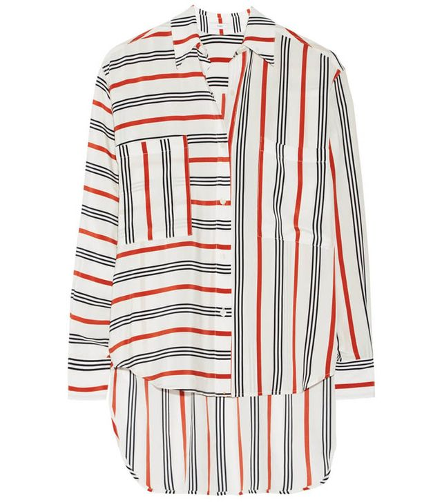 Tome Striped Silk Shirt