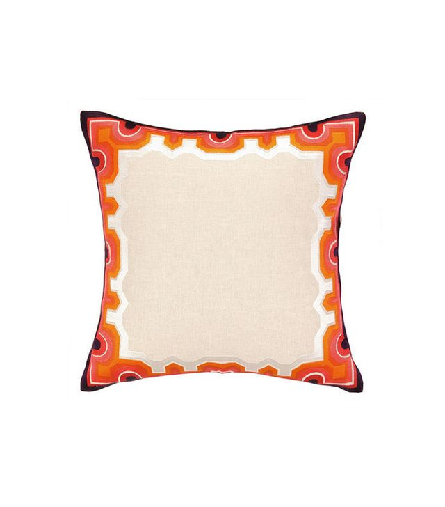 Trina Turk Arcata Embroidered Pillow