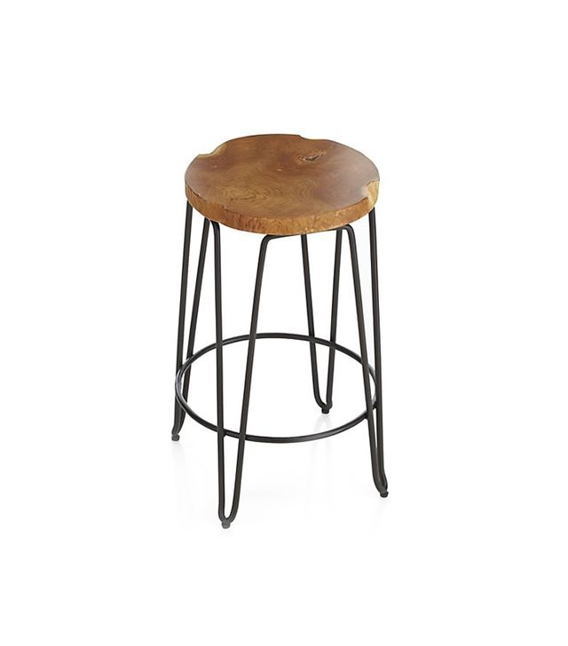 Crate and Barrel Origin Backless Bar Stools