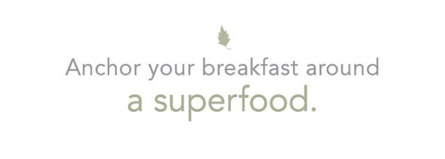 Breakfast is the most important meal of the day. If you can anchor your fall mornings around a superfood-laden meal, your energy levels will soar and stay elevated throughout the...