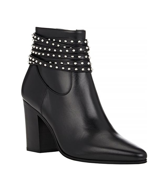 Saint Laurent Studded-Strap French Boots