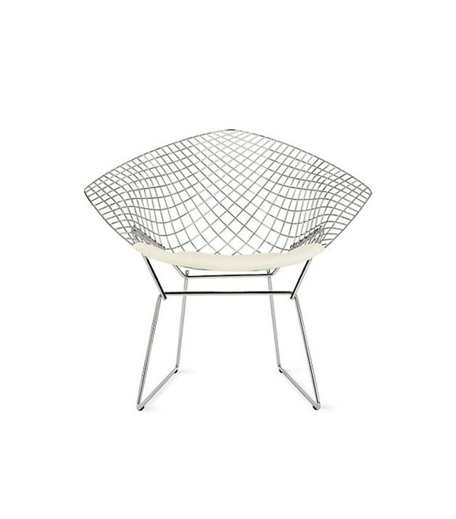 Harry Bertoia for Knoll Diamond Lounge Chair With Seat Pad