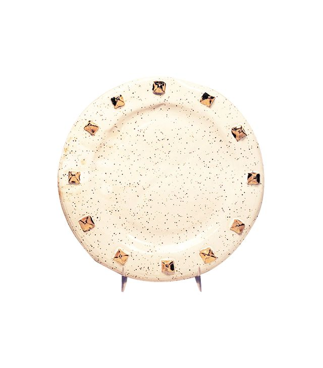 Lux/Eros Golden Pyramid Stud Plate
