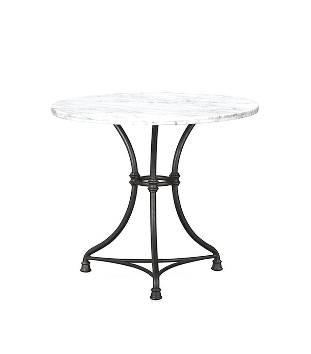 Crate and Barrel French Kitchen Round Bistro Table