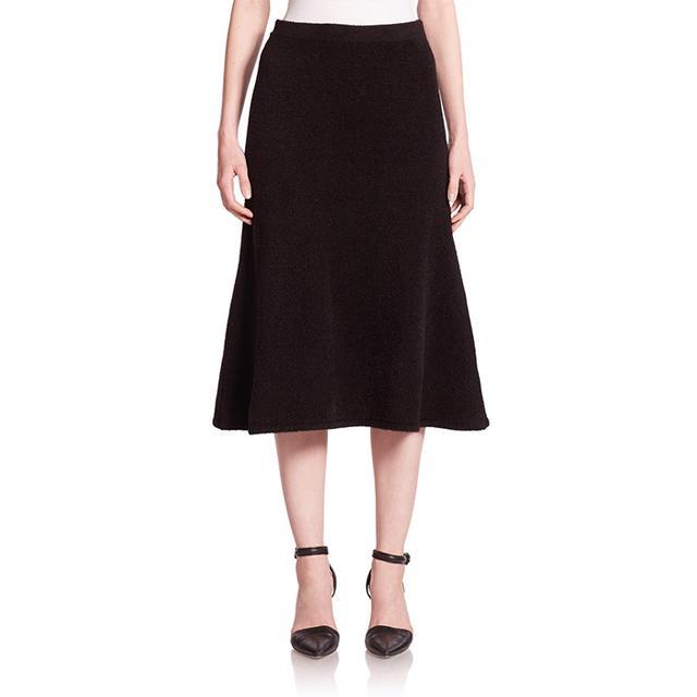 T by Alexander Wang Chenille Jersey Midi Skirt